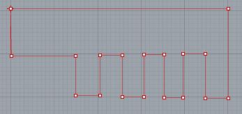 Các đoạn thẳng sau khi được vẽ nối liền với nhau