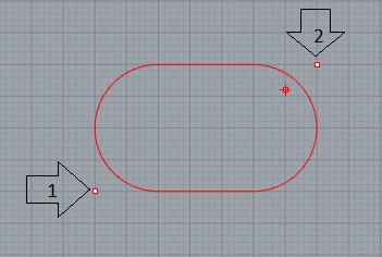 Vẽ hình chữ nhật có các góc bo tròn