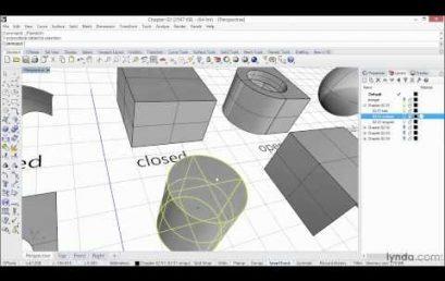 Khóa học thiết kế cơ bản trên phần mềm Rhinoceros