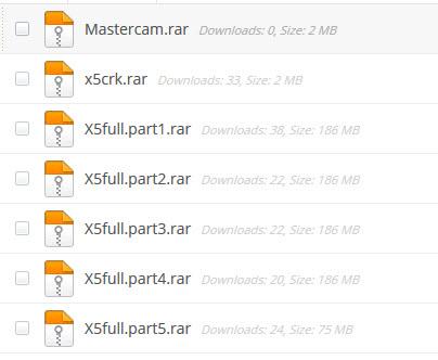 cai dat mastercam x5