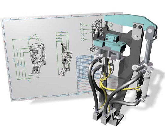 thiết kế máy inventor