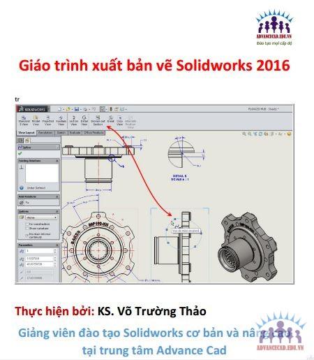 giáo trình xuất bản vẽ solidworks 2016