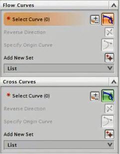 Hộp thoại Flow Curves