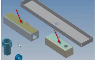 Tạo ràng buộc lắp ráp trên phần mềm Inventor
