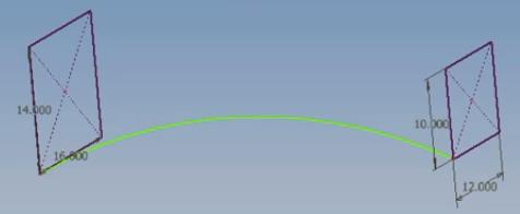 biên dạng sketch và đường dẫn