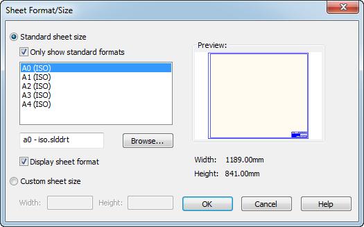 Xuất bản vẽ 2D từ mô hình 3D với Solidworks7