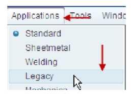 Chế độ làm việc Applications