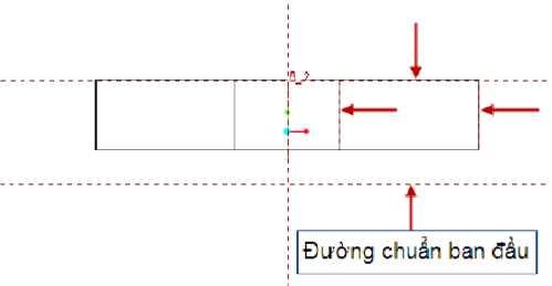 Xác định đường chuẩn và các đường tham chiếu