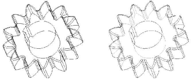 Wireframe và Hidden Line