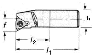 Mô hình dao tiện ren trong