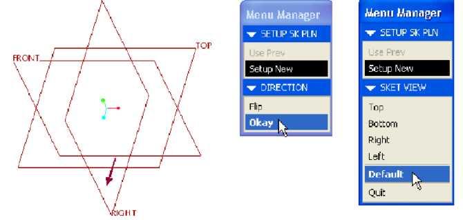 Hình vẽ phác và SET 5K PLN trong Menu Manager