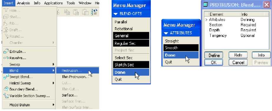 Các bước thực hiện trên Menu Manager