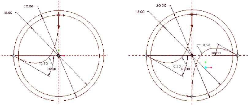 Hiệu chỉnh kích thước và xóa đường chéo nối