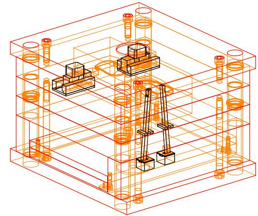 Ví dụ thiết kế khuôn NX cơ bản