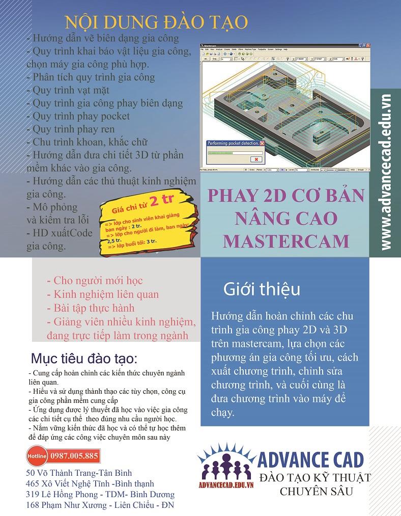 phay mastercamre