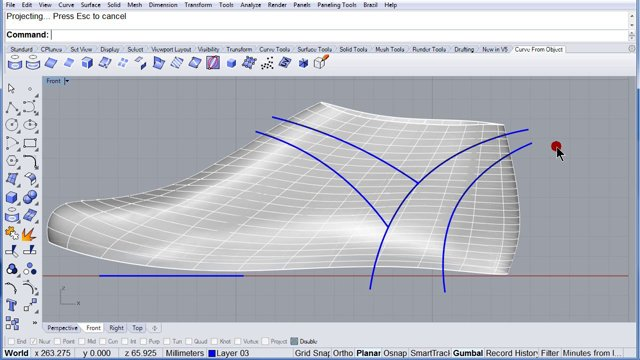 Ứng dụng phần mềm Rhino trong thiết kế giày dép