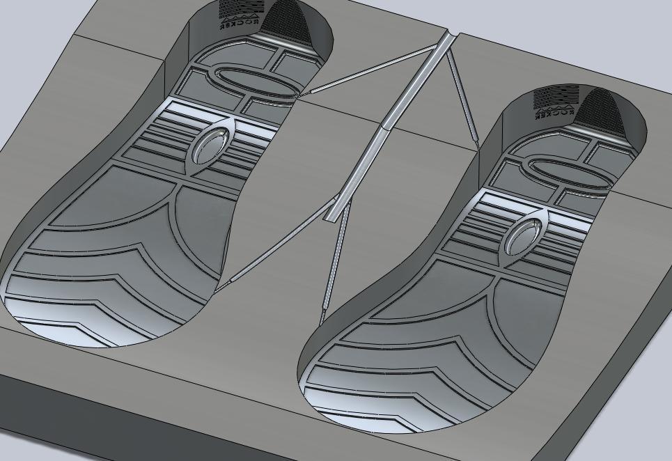 Thiết kế Powershape đế giày powershape