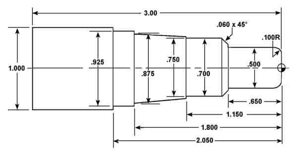 Bài tập tiện CNC