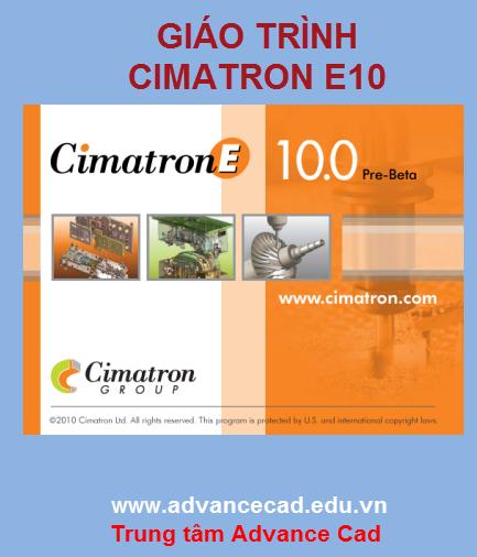 Tài liệu cimatron giáo trình cimatron E10 Free