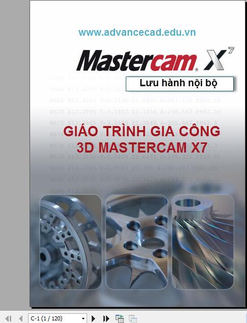 Tài liệu Mastercam X7 Free
