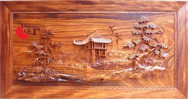 Điêu khắc gỗ mỹ nghệ