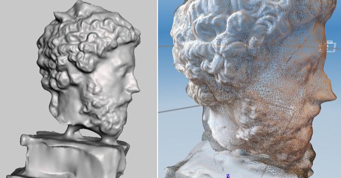 Đơn vị và định dạng file quét mẫu 3D
