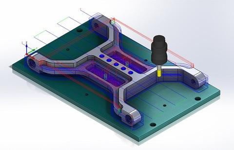 Khóa học lập trình gia công phay Solidcam
