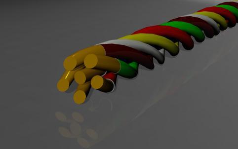 Dùng Creo Parametric vẽ dây điện bằng lệnh Sweep bằng tham số