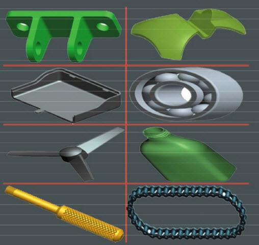 sản phẩm ứng dụng phần mềm NX