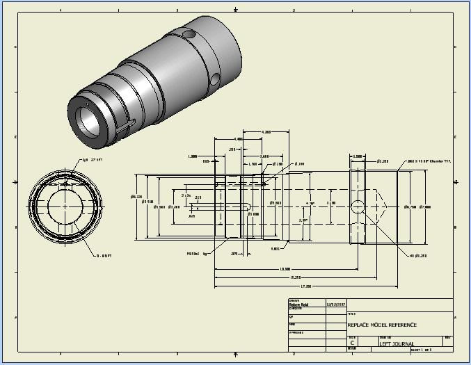 Thiết kế, lắp ráp và xuất bản vẽ 2D Inventor