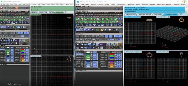 Đã có phiên bản Gemvision Matrix 9.0 x64_Nữ trang 3D