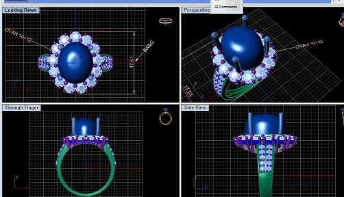 Matrix 3D cũng được máy tính hỗ trợ để thiết kế