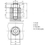 Vẽ cơ khí_Bài 18 :Hướng dẫn ghi kích thước mối ghép ren trên bản vẽ cơ khí