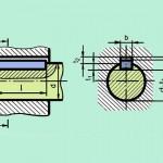 Vẽ cơ khí_Bài 30 : Ứng dụng và ghi kích thước Then bằng trên bản vẽ cơ khí.
