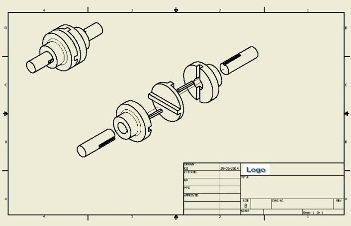 Tạo bản vẽ 2D trên phần mềm Inventor