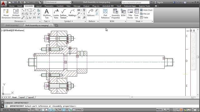 Advance CAD tặng DVD học Autocad Mechanical thiết kế cơ khí