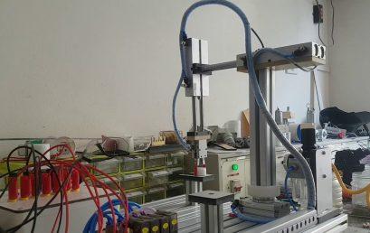 Điều khiển tay máy gắp sản phẩm dùng PLC S7 200