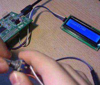 đếm xung encoder