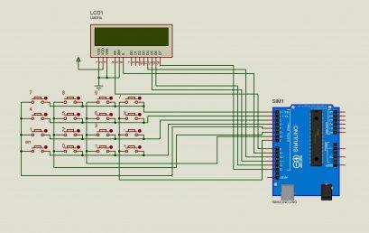 Làm một máy tính đơn giản với Arduino và ma trận phím