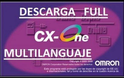 Phần mềm lập trình PLC Omron CX-ONE version 4.41
