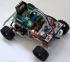 Xe dò line với Arduino