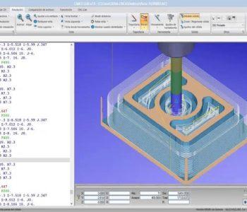 mô phỏng trên phần mềm cimcoedit
