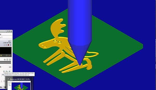 điêu khắc trên mastercam