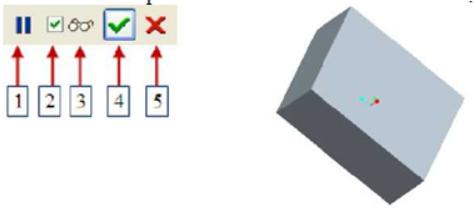 Các biểu tượng bên dưới Dashboard và kết quả nhận được