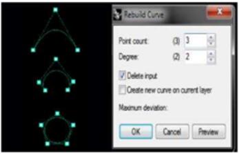 Một số ví dụ Degree 2 Curve