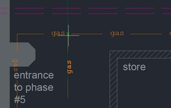 Ví dụ cải tiến lựa chọn khoảng hở Linetype
