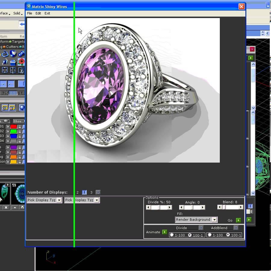 Lệnh cơ bản MATRIX 7 - Thiết kế nữ trang