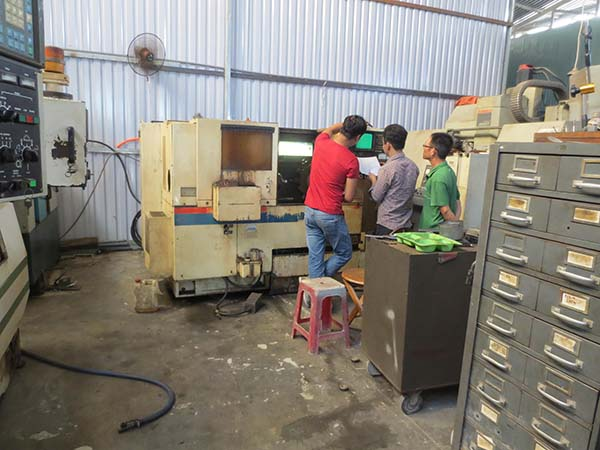 Từ vỡ lòng đến thành thạo lập trình – đứng máy CNC