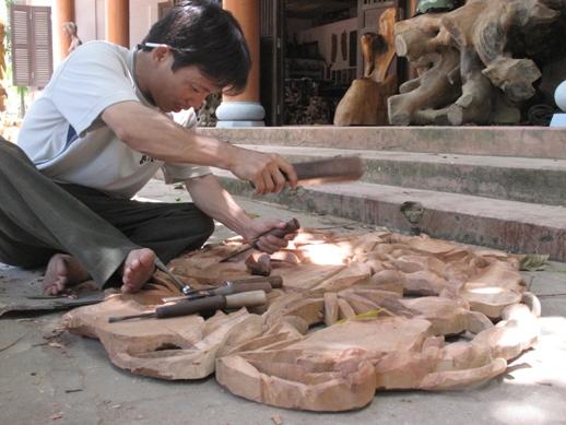 nghề điêu khắc