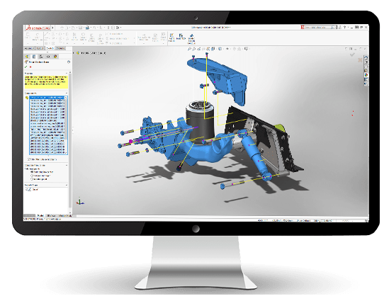 10 điểm mới trên SOLIDWORKS 2019 – 3D CAD